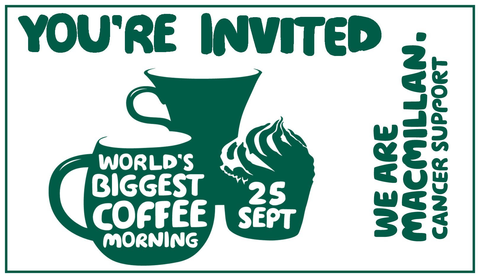 Get involved in Macmillan Coffee Mornings in the UK